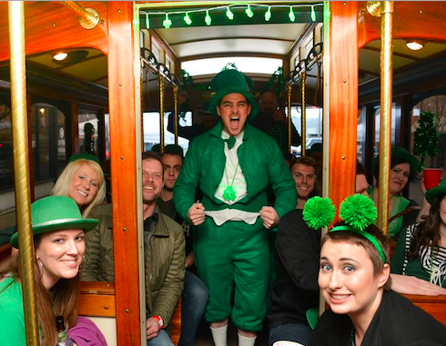 St Trolley's Day Tour
